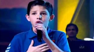 Fidelidade (Leandro Vinicius - Programa Raul Gil Jovens Talentos Kids 08/10/2011)