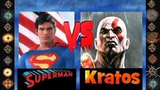 Superman (Christopher Reeves) vs Kratos ( God of War ) - Ultimate Mugen Fight 2014