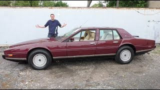 The $370,000 Aston Martin Lagonda Is the Weirdest Luxury Car Ever