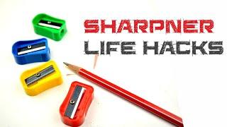 5 Life hacks for Sharpener - DIY tricks