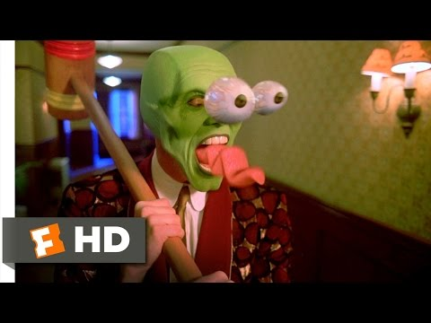 The Mask (1/5) Movie CLIP - Time to Get a New Clock (1994) HD