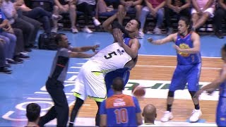 White-Saitanan scuffle in the paint | PBA Commissioner's Cup 2018