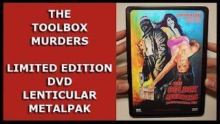 THE TOOLBOX MURDERS - LIMITED DVD LENTICULAR METALPAK UNBOXING - DER BOHRMASCHINEN-KILLER