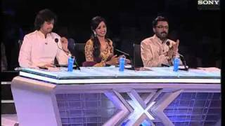 X Factor India - Sahiti's astonishing performance on Jiya Jale- X Factor india - Episode 9 -  11th June 2011