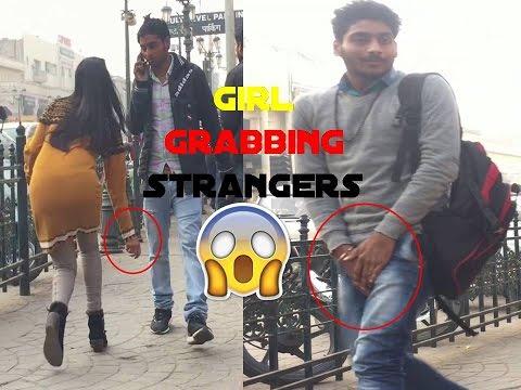 Girl Grabbing Men's **** [] Pranks In INDIA [] Epic Reactions Ft. Team X Adventure