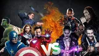 Los Vengadores VS Suicide Squad | Batalla de Rap | Rouchy | Español