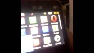 Mostrando celular lg c397