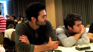 Tyler Hoechlin and Dylan O'Brien Talk TEEN WOLF at San Diego Comic Con 2013
