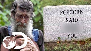 Legend JB Visits Popcorn's Grave | Moonshiners