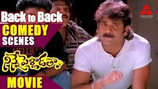 Ninnepelladatha Movie Back 2 Back Comedy Scenes Part 1 - Nagarjuna,Tabu
