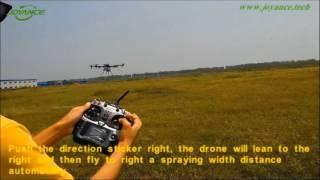 Joyance Technology Ag Spraying Drone Operating Video