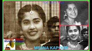 MEENA KAPOOR-Film-MALIKA SALOMI-1952-Mein Matwali Nagin Hoon-[ Rare Melodious Musical Gem ]