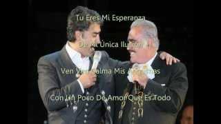 Perdon - Alejandro y Vicente Fernandez (letra)