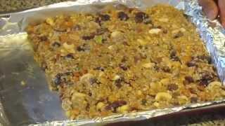 Healthy Breakfast Bars (Oat,Nuts and dry fruit bars)