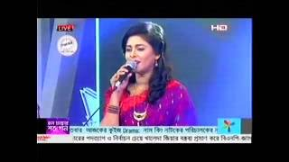 Eid-Ul-Fitar Live Musical Program- (SA Tv)- Tumi Dub Diona Jole Konna by Rajib & Luipa