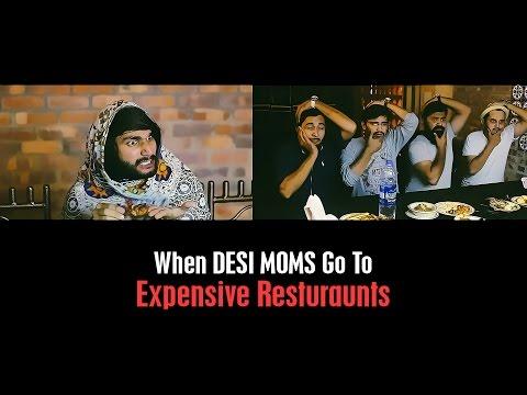 DESI MOMS in Expensive Restaurants By Karachi Vynz Official
