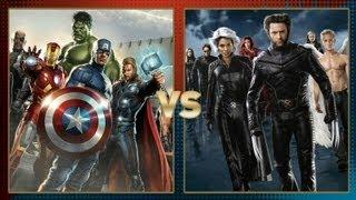 The Avengers vs X Men: Fanboy Faceoff