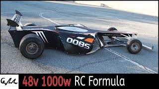 Making F1 RC 1/2 scale