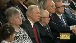 Feinstein remarks at attorney general hearing