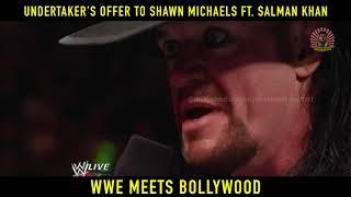WWE Meets Bollywood   Funny Dubbing   Undertaker, Salman Khan, Shawn Michaels