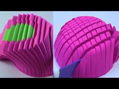 Xxx Mp4 Amazing Satisfying Vidos Clips Combination Of Kinetic Sand ASMR 3gp Sex