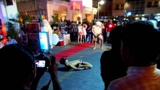 Raunchy nude Gay Phuket show thailand may 2012