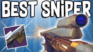 Destiny 2: THE GODLY NEW RAID SNIPER! (Alone As A God)
