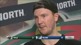 Devan Dubnyk says Wild taking it one game at a time