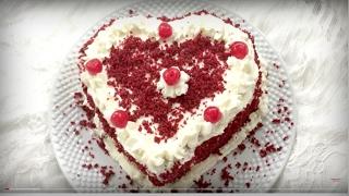 চুলায় তৈরী রেড ভেলভেট কেক || Bangla Cake Recipe || How To Make Red Velvet Cake || Stove Top Cake