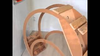 How to make baby bed moon. DIY. AMAZING