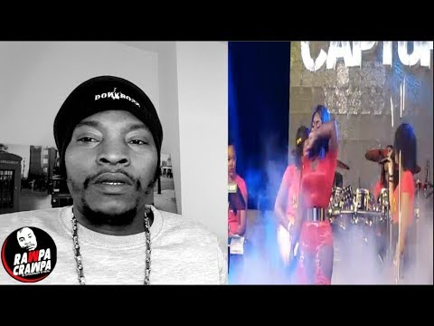 Spice Cried on stage while performing the song Captured 8 Nov 2018 Rawpa Crawpa Vlog