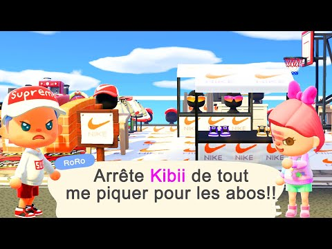 JE VOUS DONNE LES OUTILS en OR de RORO ANIMAL CROSSING NEW HORIZONS LET S PLAY LIVE ACNH FR