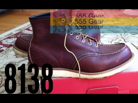 Review Red Wing Heritage 8138 Moc Toe Boots Made in USA