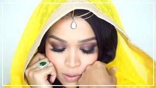 Indian Makeup Tutorial for Dummies 2016   Beautishka