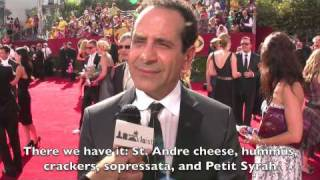 2009 Emmys Red Carpet interviews at Nokia Theatre LA Live - Drama Category (+ Tony Shalhoub)