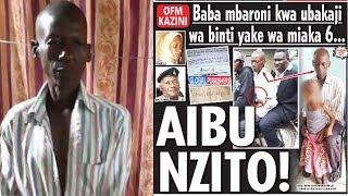 UNYAMA WA KUTISHA: Baba Ambaka Mwanae!