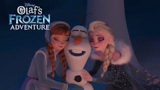 FROZEN   Olaf's Frozen Adventure - New Trailer   Official Disney UK