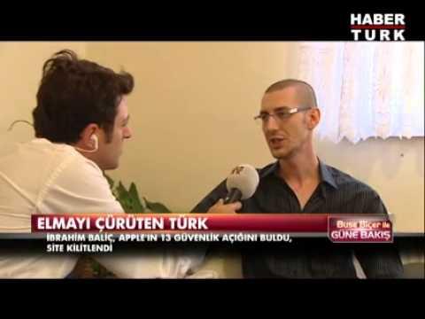 Apple'ı çökerten Türk İbrahim Baliç Habertürk TV'de anlattı