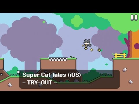 Super Cat Tales / Super Cat Bros. - iOS - Try-Out [1080p - 60fps] (RE-UPLOAD)