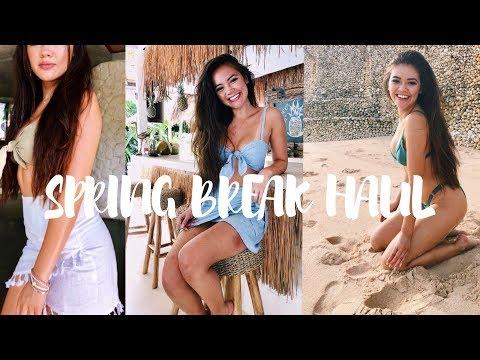 HUGE Spring Break Try-On Haul | viviannnv