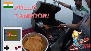 Vlog Comida: Preparando Pollo Tandoori estilo india con Darhsan y July