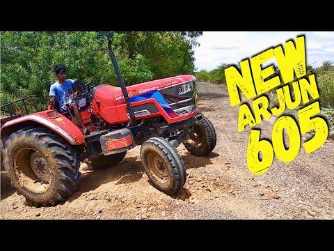 Xxx Mp4 ARJUN NOVO 605 DI MS Mahindra Tractor 50 HP Arjun 605 Very Powerfull Tractor Come To Village 3gp Sex