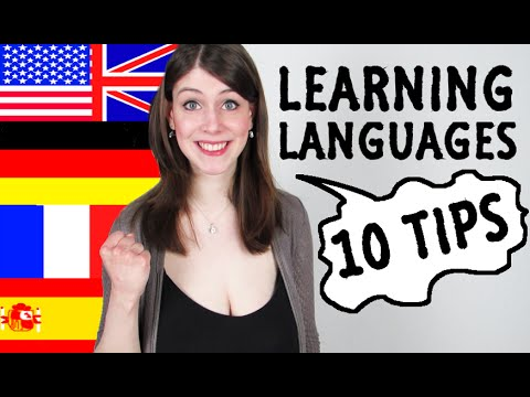 10 TIPS How To LEARN LANGUAGES