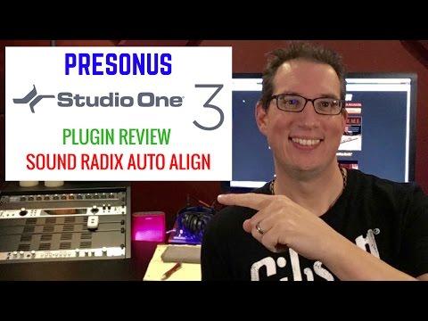 Presonus Studio One & Drum Phase Correction - Auto Align - Plugin Review
