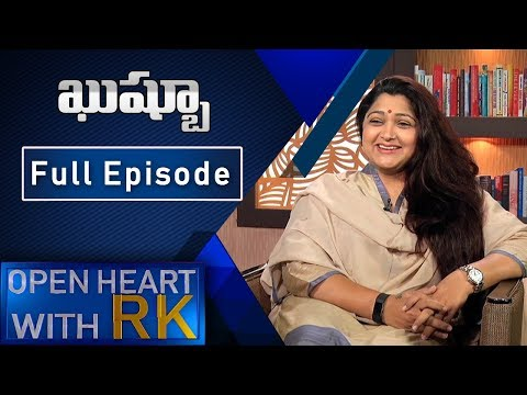 Xxx Mp4 Actress Turned Politician Kushboo Open Heart With RK Full Episode ABN Telugu 3gp Sex