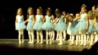 Alina Ballet Recital June2009 - age 5