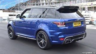 Overfinch Supersport Range Rover SVR LOUD Exhaust Sounds!