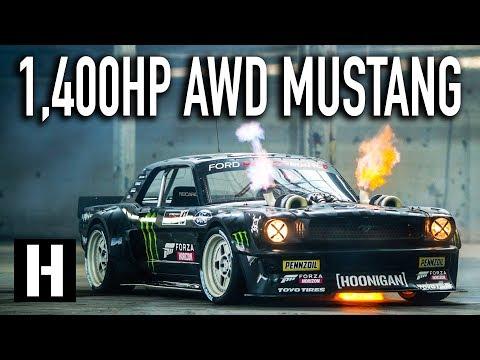 Xxx Mp4 Ken Block39s 1400hp AWD Ford Mustang Hoonicorn V2 Straight From Gymkhana TEN 3gp Sex