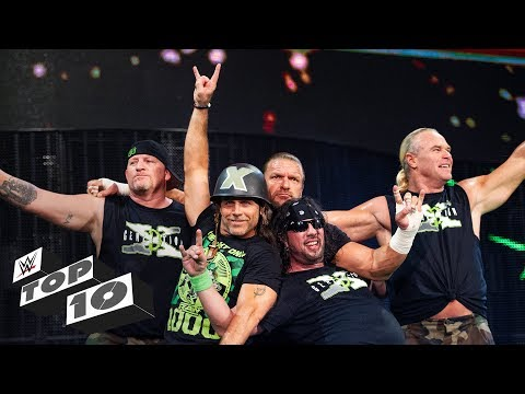 D Generation X s greatest moments WWE Top 10 Oct. 1 2018