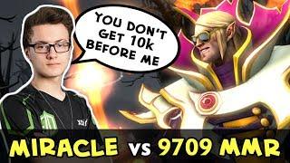 Miracle Invoker vs Top-1 MMR Paparazi — you don't get 10k before me